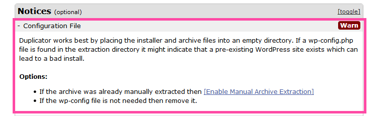 رفع مشکل نصب بسته نصبی