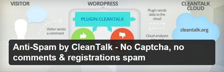 CleanTalk افزونه ضد اسپم وردپرس