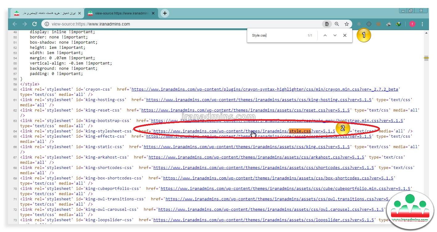 شناسایی نام قالب و افزونه های سایت وردپرس